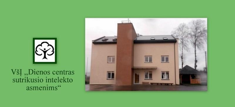 """VšĮ """"DIENOS CENTRAS SUTRIKUSIO INTELEKTO ASMENIMS"""""""